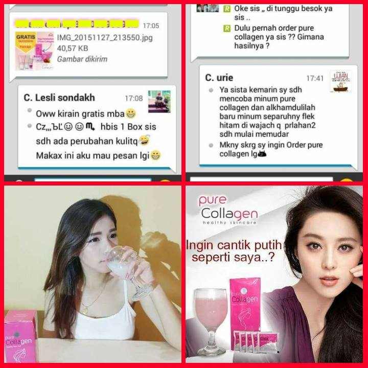 Distributor Pure Collagen Asli Original Surabaya, TSEL